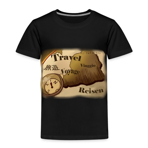 Travel | Design - Kinder Premium T-Shirt