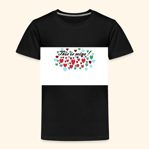 Hearts Hjerter - Premium T-skjorte for barn