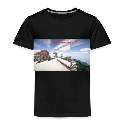 Minecraft Ausenländer - Kinder Premium T-Shirt