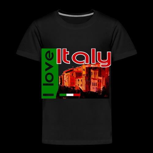 I love Italy! Trikolore - Kinder Premium T-Shirt