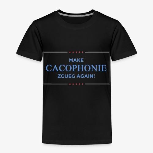 Faire la Cacophonie zgueg encore ! - T-shirt Premium Enfant