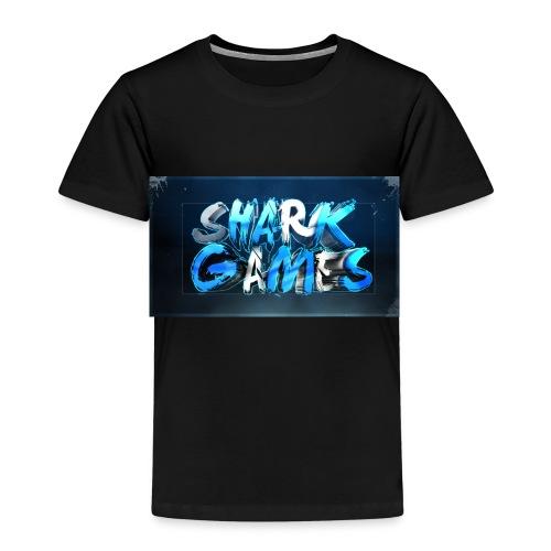 SharkGames - Maglietta Premium per bambini