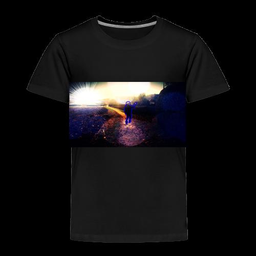 Hoodie Grau   Handyhülle samsung - Kinder Premium T-Shirt