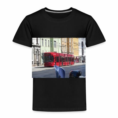 Een tram in Innsbruck - Kinderen Premium T-shirt