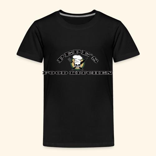 Pepes Food Kitchen - Kinder Premium T-Shirt