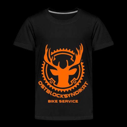 LOGO Orange - Kinder Premium T-Shirt