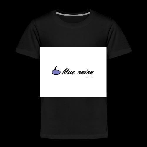 blue onion 4 - Kinder Premium T-Shirt