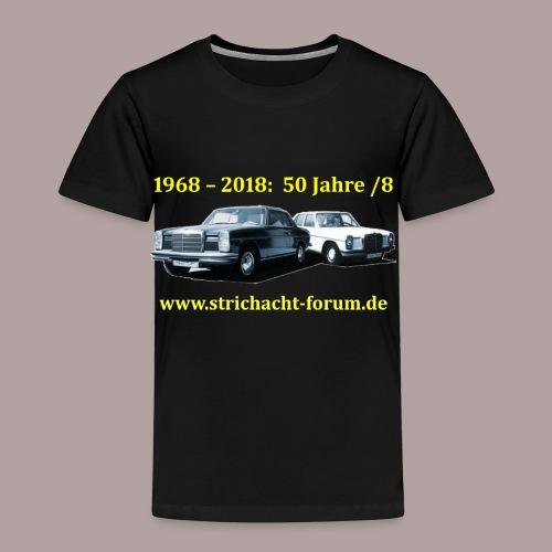 50jahre /8 strichacht-forum.de in gelb - Kinder Premium T-Shirt