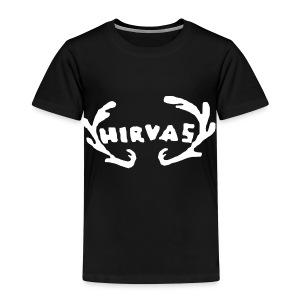 Hirvas vaalea - Lasten premium t-paita