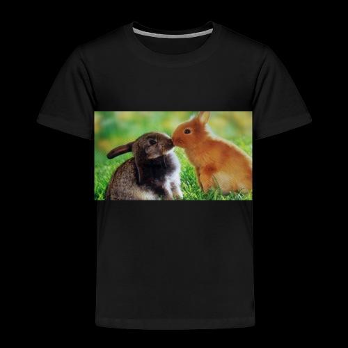 Zwilling kaninchen T-shirt - Kinder Premium T-Shirt
