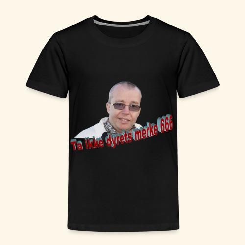 Ta ikke dyrets merke 666 - Premium T-skjorte for barn