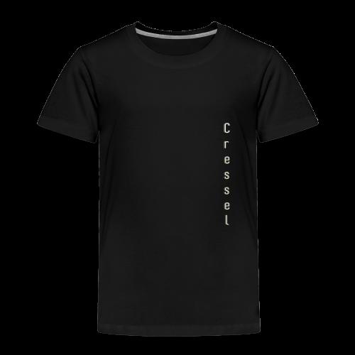 Cressel logo chevauché crème - T-shirt Premium Enfant