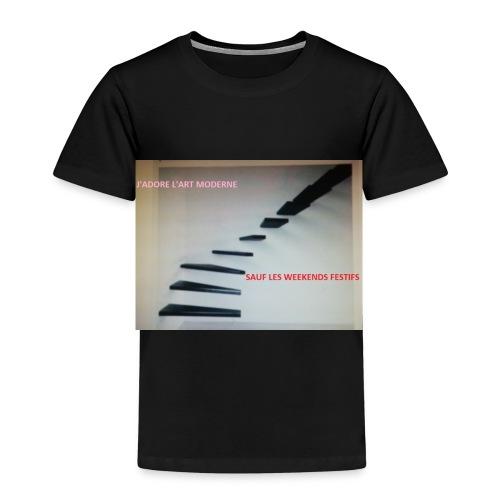 escalier MODERNES les JOURS de FETES - T-shirt Premium Enfant