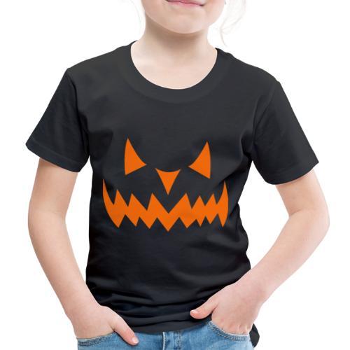 Halloween Pumpkin Smiley Face Face - Kids' Premium T-Shirt