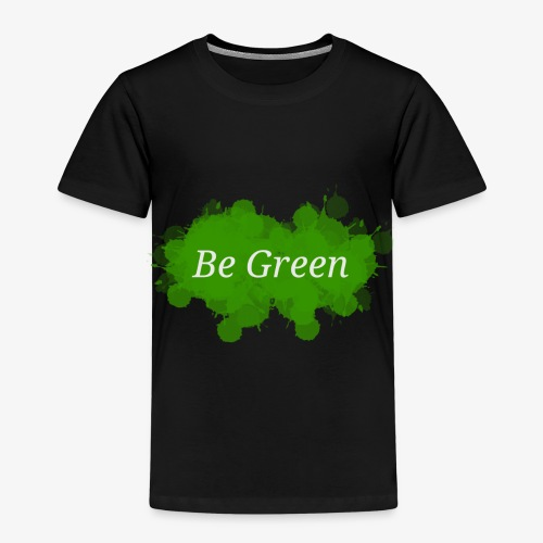 Be Green Splatter - Kids' Premium T-Shirt