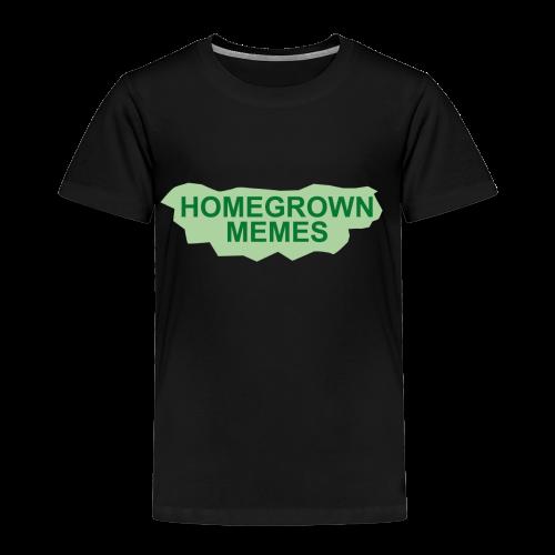 Homegrown Memes Logo - Kinder Premium T-Shirt