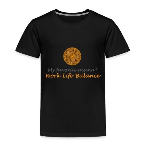 Favorite Asana Mandala - Kinder Premium T-Shirt