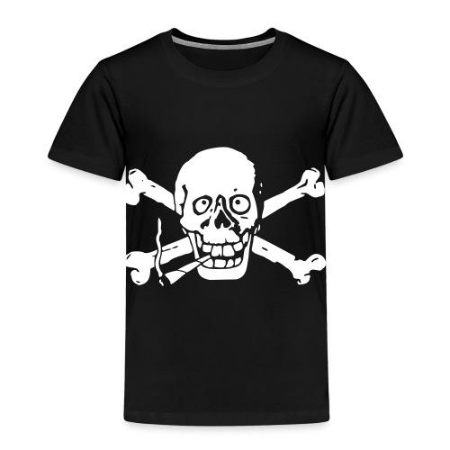 Gutgelaunter Totenkopf - Kinder Premium T-Shirt