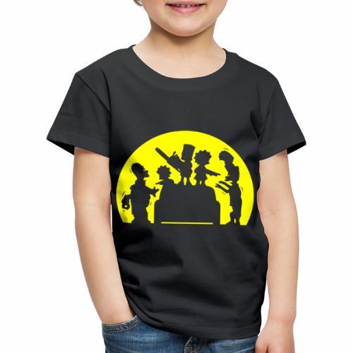 FAMILIA ZOMBIE - Camiseta premium niño