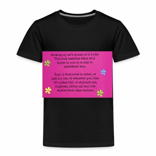 Phrase about growing up. - Kids' Premium T-Shirt