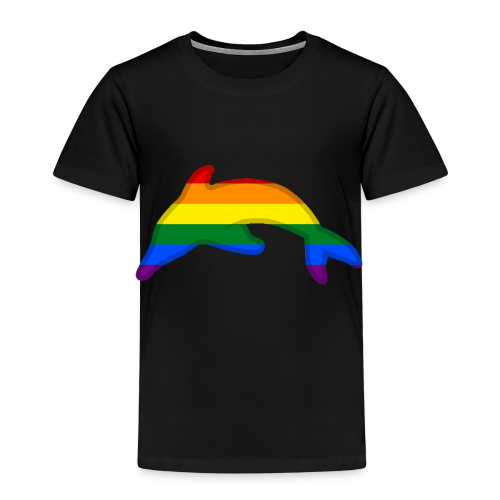 Gay / Rainbow Dolphin - Kids' Premium T-Shirt