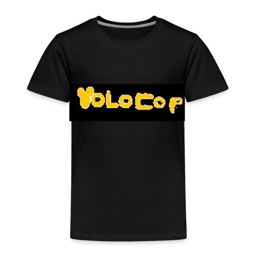 Pixelart YOLOCOP - Kinder Premium T-Shirt