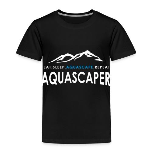 Aquascaper - Eat Sleep Aquascape Repeat - Kinder Premium T-Shirt