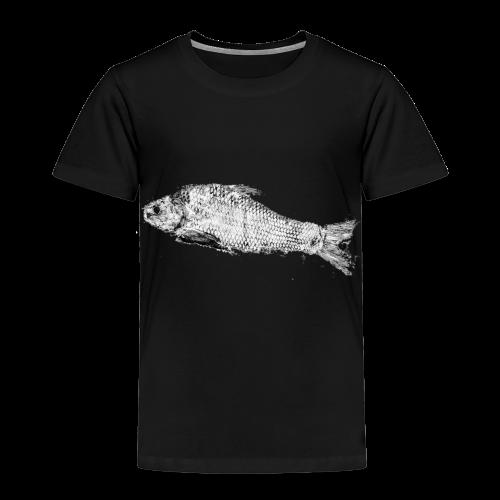 Gyotaku fish ink print - Kids' Premium T-Shirt