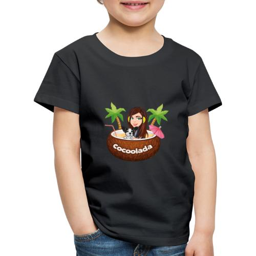 Cocoolada - the coconut lady - Kinder Premium T-Shirt