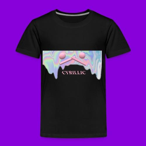 CYRILLIC NEON GLUE - Kids' Premium T-Shirt