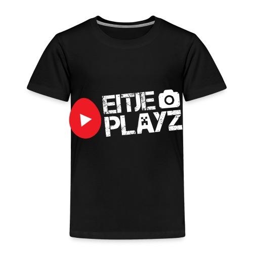 Wit Eitje Playz logo - Kinderen Premium T-shirt