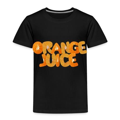 orange juice - T-shirt Premium Enfant