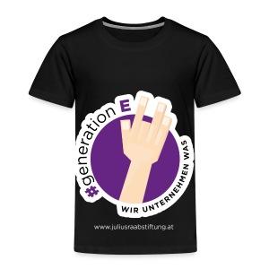 #generationE - wir unternehmen was - Kinder Premium T-Shirt