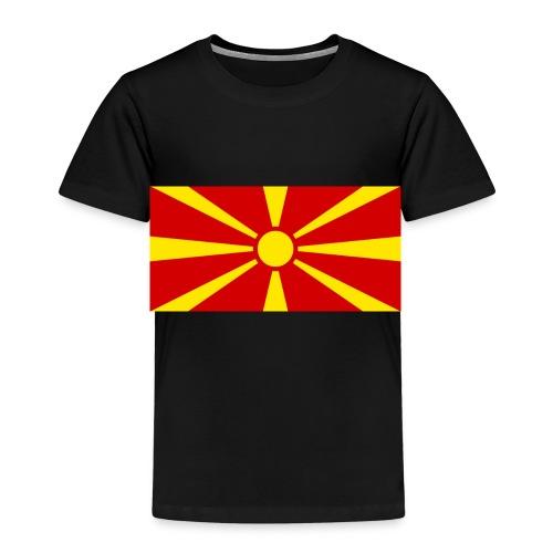 Macedonia Flag - Kinder Premium T-Shirt