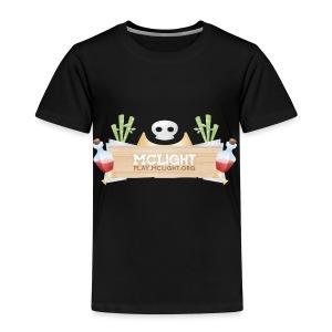 McLight - Premium T-skjorte for barn