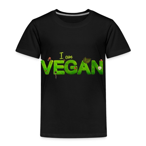 I am Vegan! - Kinder Premium T-Shirt