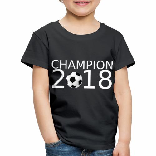 Fussball Champion 2018 - Kinder Premium T-Shirt