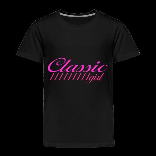 ClassicGirlPink - Kinder Premium T-Shirt