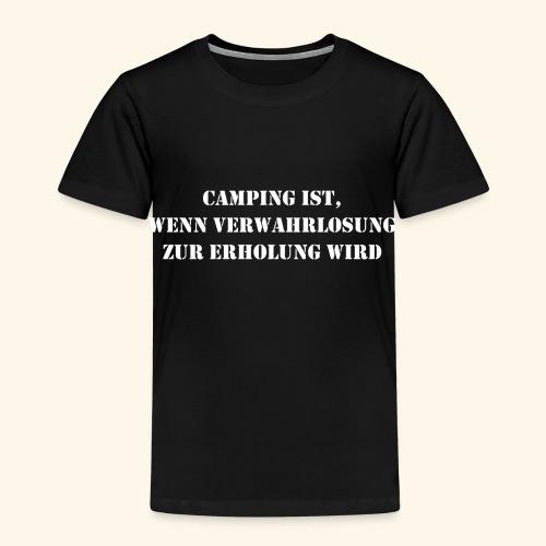 Camping Erholung Urlaub Geschenk - Kinder Premium T-Shirt