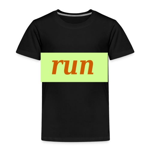 run - Kinder Premium T-Shirt