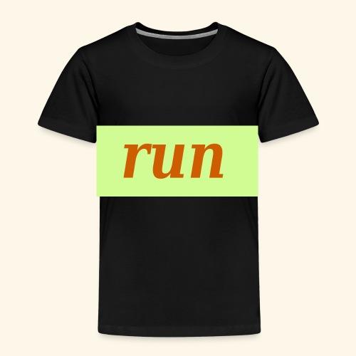 run - Kinder Premium T-Shirt