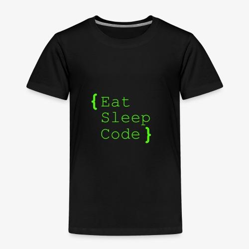 eat sleep code - Kinder Premium T-Shirt