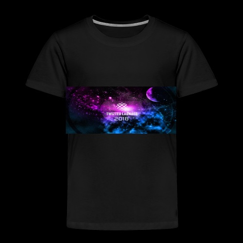 Twizted Carnage Events Space - Kids' Premium T-Shirt
