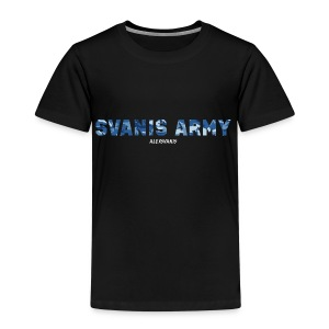 SVANIS ARMY (ALEXSVANIS VIT) - Premium-T-shirt barn