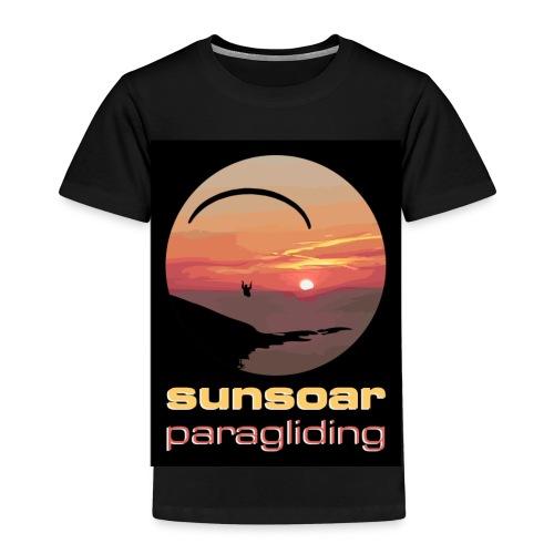 sunsoar paragliding - Kids' Premium T-Shirt