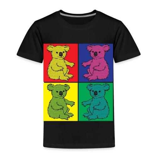 Pop Art Koala - Kinder Premium T-Shirt
