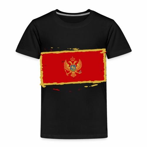 Црна Гора застава - Crna Gora zastava - Montenegro - Kinder Premium T-Shirt