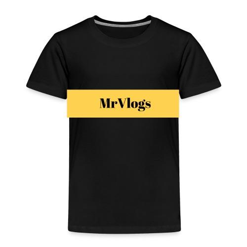 MrVlogs Cool Banner - Kids' Premium T-Shirt