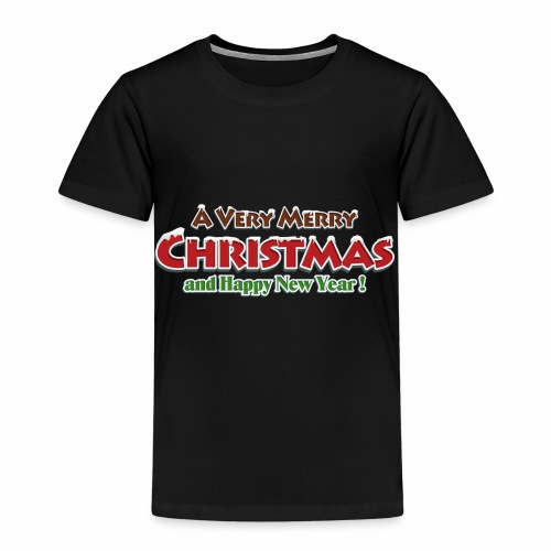 _Merry Christmas_ - Kinder Premium T-Shirt