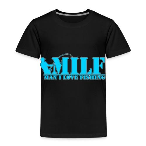 Milf man i love fishing - Kinderen Premium T-shirt